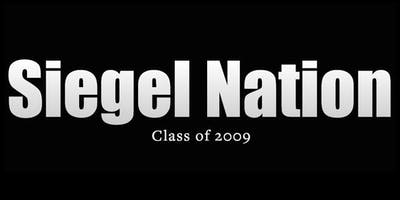 Siegel Class of 2009 Reunion
