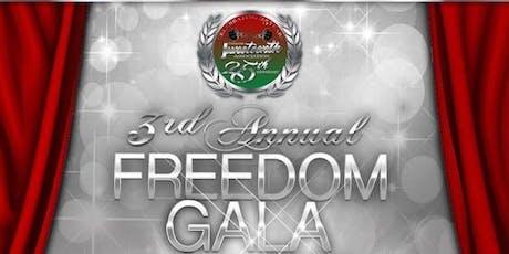 DEJA Freedom Gala tickets