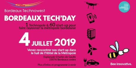 Bordeaux Tech'Day 2019 billets