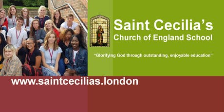 Sixth Form Open Evening at Saint Cecilia's Church of England School tickets