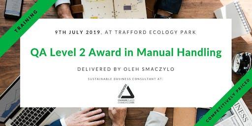 Training - Qualsafe QA Level 2 Award in Manual Handling in Trafford, Manchester