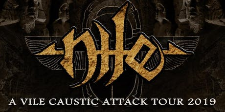 Nile w/ Terrorizer, Heavyweight, Virtus, Beyond The Heavens tickets