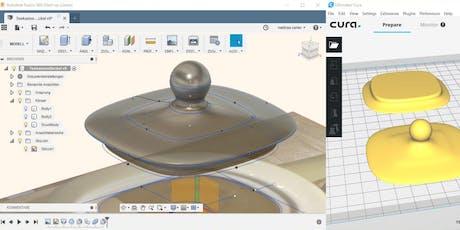 Einführung in Autodesk Fusion 360 (für 3D Druck) Tickets
