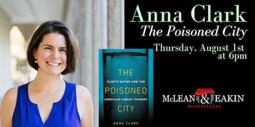 Anna Clark Author Event
