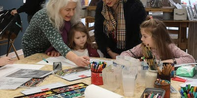 Kids After-school Art Class with Charlotte Anker