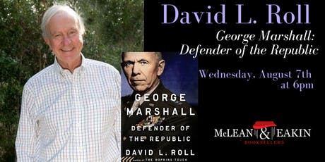 David Roll Author Event tickets