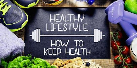 FREE ONLINE MASTERCLASS: Health, Nutrition, Sport & Wellness tickets