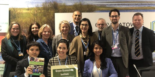 After the Anthropocene- planning for the Biocene- Green Economics 14th Annual Green Economics Institute Conference August 2019