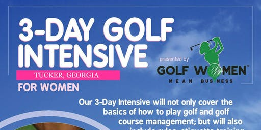 3-Day Golf Intensive for Women