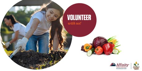 Volunteer with Affinity at America's Grow-a-Row tickets