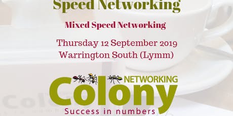 Colony Speed Networking (Warrington) - 12 Sept 2019 tickets