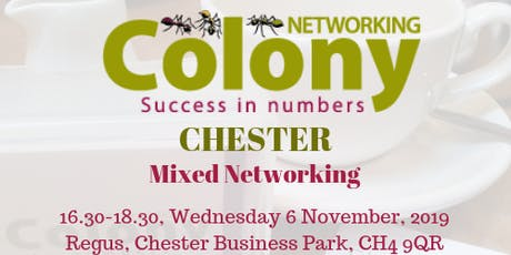Colony Networking (Chester) tickets