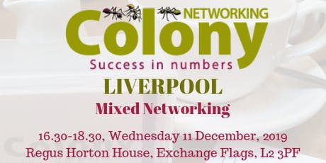 Colony Networking (Liverpool) tickets