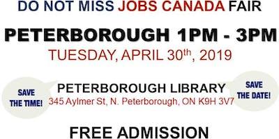 Free: Peterborough Job Fair - April 09th, 2019