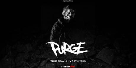 Purge - HOUSTON tickets