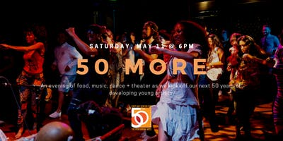 50 MORE: A COMMUNITY PARTY