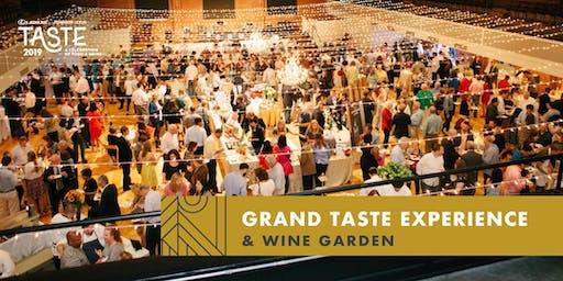 2019 Grand Taste Experience & Wine Garden