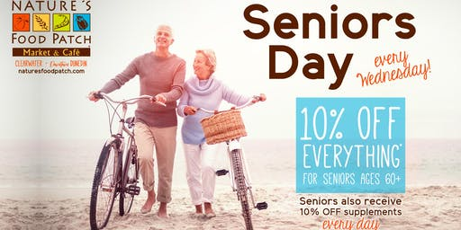 Seniors Sale Day