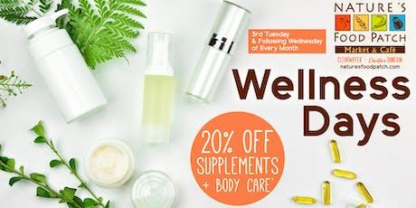 Wellness Sale Days tickets