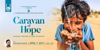Caravan Of Hope · Fundraising for Clean Water With Imam Zaid Shakir