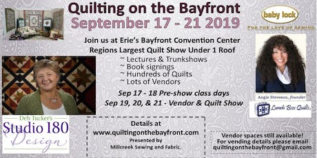 Quilting on the Bayfront 2019 tickets