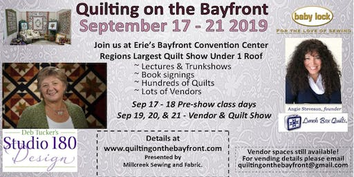 Quilting on the Bayfront 2019
