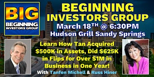 Beginning Investors Group on the Formula to Real Estate...