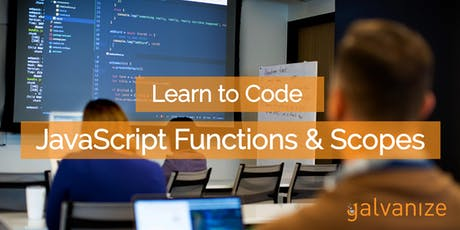 Learn to Code: JavaScript Functions & Scope tickets