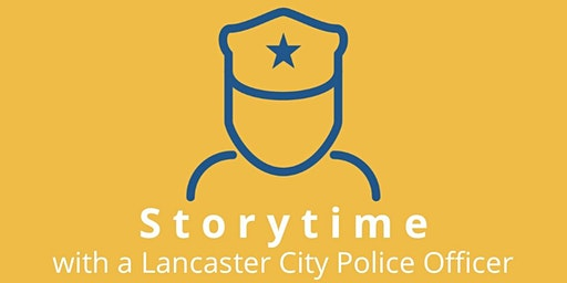 Storytime with a Lancaster City Police Officer