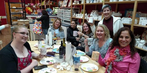 Believe Big Mug Painting Party - Thurs, October 24th