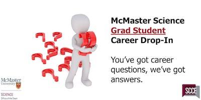 McMaster Science Grad Student Career Drop-In