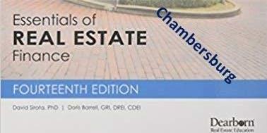 Broker Class-Real Estate Finance