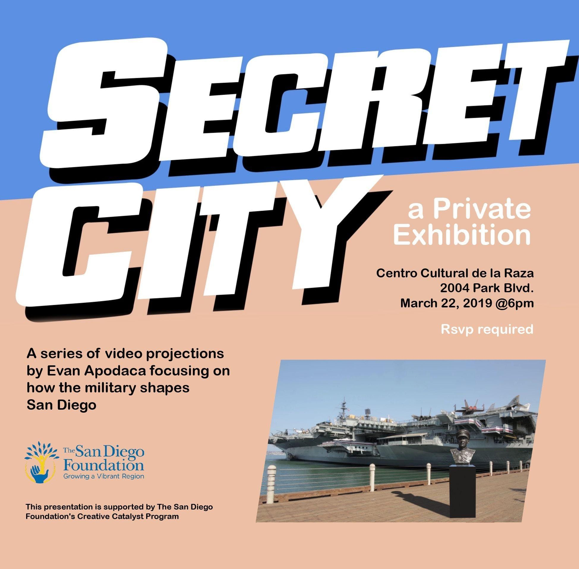 Secret City - Private Exhibition