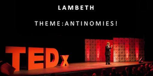 TEDxLambeth: Antinomies!