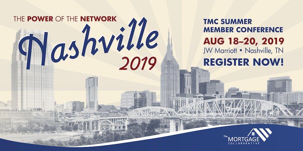 The Mortgage Collaborative 2019 Summer Conference Registration, Sun