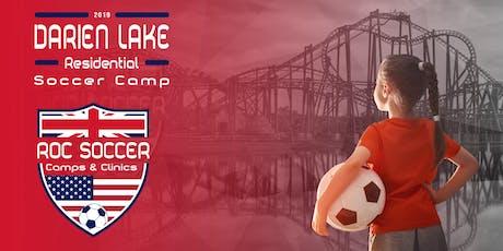 Roc Soccer's Darien Lake Residential Soccer Camp 2019 tickets