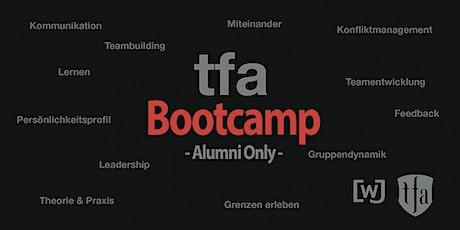 TFA Bootcamp für Alumnis 2020 Tickets