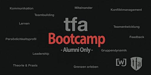 TFA Bootcamp für Alumnis 2020