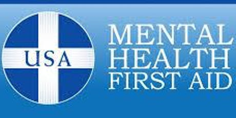 Mental Health First Aid for Adults (Only Pastors and Spouses) tickets