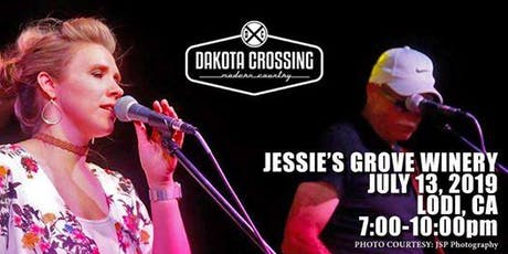 Jessie's Grove Winery Presents: DAKOTA CROSSING with Mondo! tickets
