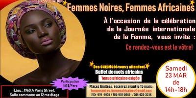 Célébration de la Journée Internationale de la Femme 2019