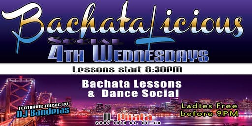 BachataLicous@ Il Pirata, 4th Wednesdays