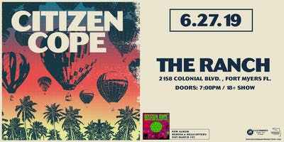 Citizen Cope at The Ranch (June 27, 2019)