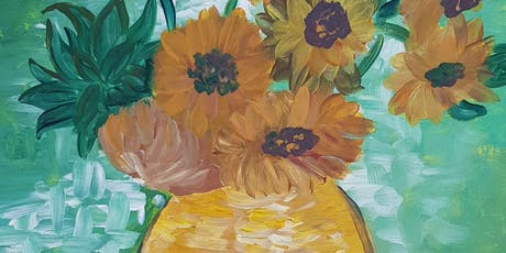 Paint'n'Pints™ at Aether Brewing Milton - Van Gogh Sunflowers tickets