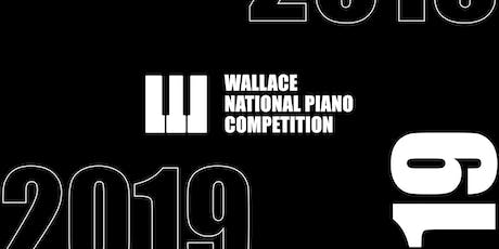 Wallace National Piano Competition 2019 - Opening Ceremony tickets