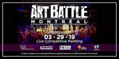 Art Battle Montréal - 29 Mars, 2019