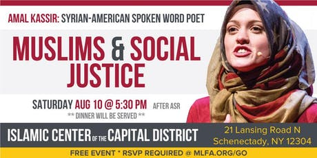 Muslims and Social Justice -  Schenectady, NY  tickets