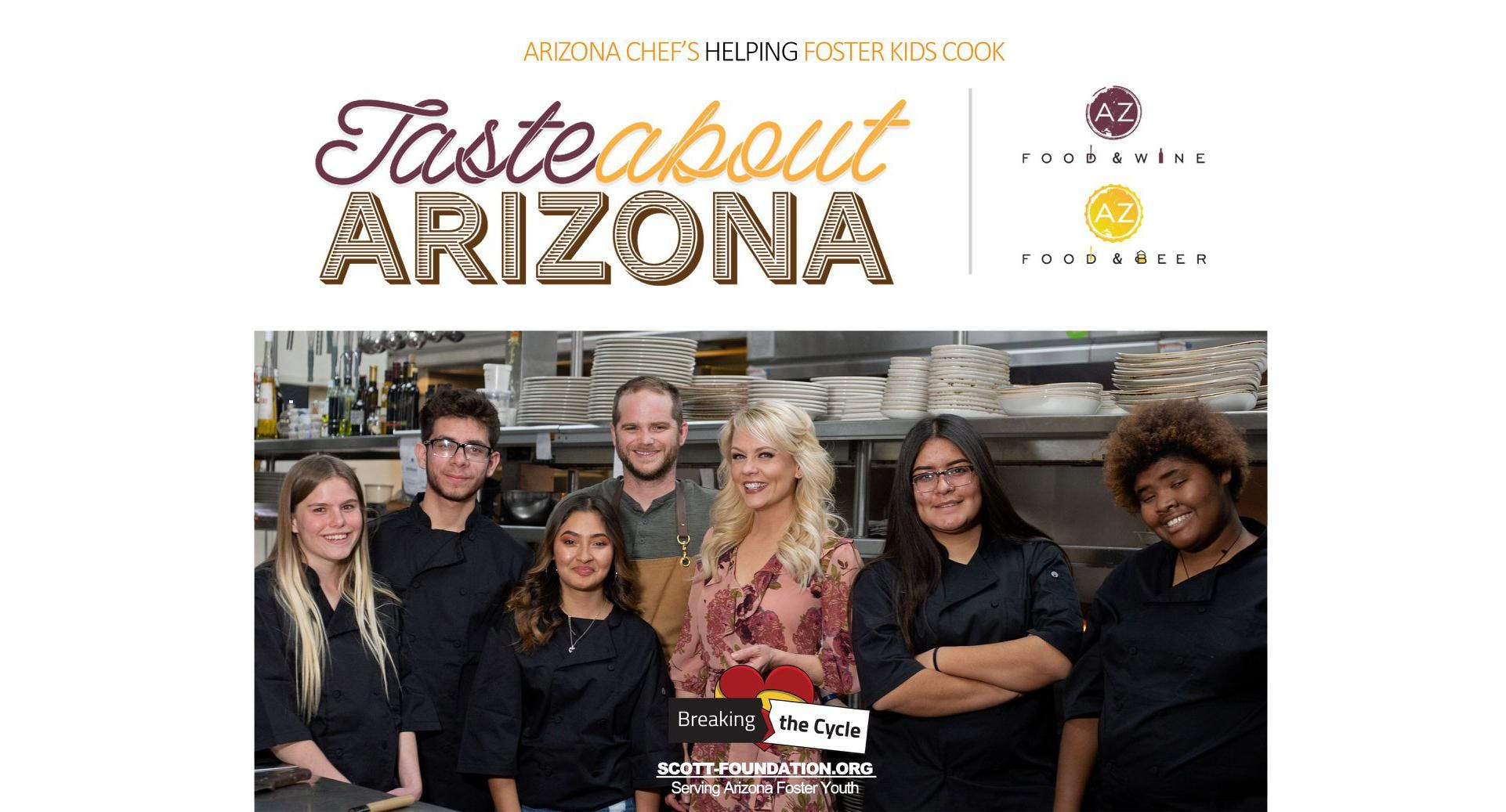 TasteAbout Arizona 5 Course Dinner & Tasting with The Scott Foundation