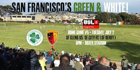 Tuesday, July 2, 2019 | vs. San Francisco City FC tickets