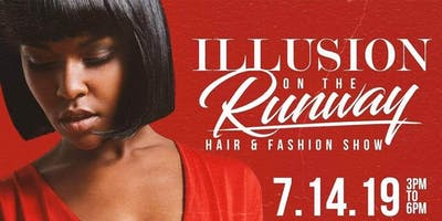Illusion On The Runway Hair and Fashion